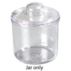 Carlisle® 457107 8 Oz. Clear Condiment J-Jar - 24 / CS