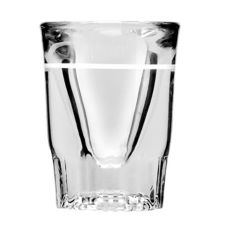 Anchor Hocking Lined 1.25 oz Whiskey Glass
