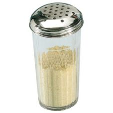 American Metalcraft 3312 Plastic 12 Oz Cheese Shaker w/ S/S Top