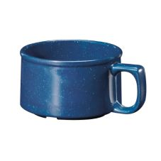 G.E.T. BF-080-TB Texas Blue™ 11 Oz Melamine Soup Bowl - 24 / CS