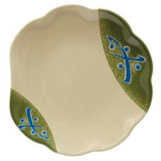 "G.E.T. Traditional™ 8"" Scalloped Edged Plate"