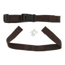 G.E.T. STRAPS Replacement Brown Cloth Strap for HC-100 High Chairs
