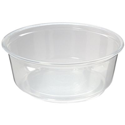 Fabri-Kal 9505100 Pro-Kal 8 Oz. Clear Deli Container - 500 / CS
