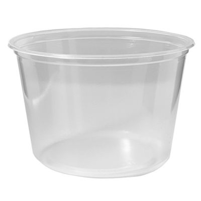 Fabri-Kal 9505102 Pro-Kal 16 Oz. Clear Deli Container - 500 / CS