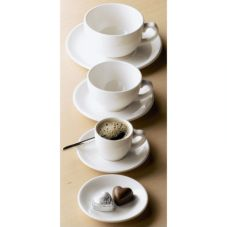 Dudson 3PLW-035X Classic White 9.25 oz Teacup - 36 / CS