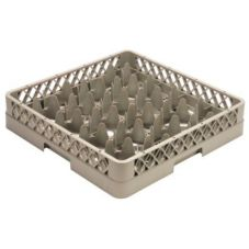 Vollrath TR11 Traex Rack-Master® Beige 20-Compartment Glass Rack
