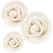 Lucks™ 41642 Royal Icing White Rose Variety Pack - 114 / BX
