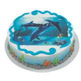 Lucks™ 40761 Edible Image® Dolphins - 12 / BX