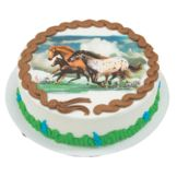 Lucks™ 40759 Edible Image® Wild Horses - 12 / BX