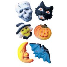 Lucks™ 14254 Dec-Ons® Deluxe Halloween Assortment - 180 / BX