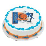 Lucks™ 38445 Edible Image® Basketball - 12 / BX