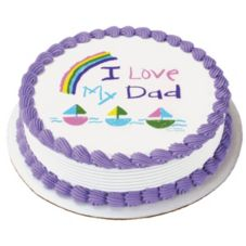 Lucks™ 27165 Edible Image® I Love My Dad - 12 / BX