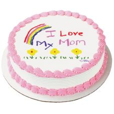 Lucks™ 28648 Edible Image® I Love My Mom - 12 / BX