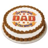 Lucks™ 41157 Edible Image® Best Dad In The World - 12 / BX