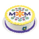 Lucks™ 41075 Edible Image® Best Mom In The World - 12 / BX