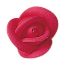 "Lucks™ 1"" Small Bright Red Rose"