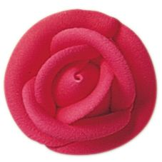 "Lucks™ 13802 1.5"" Medium Bright Red Rose - 90 / BX"