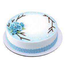 "Lucks™ 14390 1.5"" Medium Brides Blue Rose - 90 / BX"
