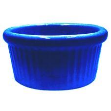 Diversified Ceramics Cobalt Blue 6 Oz. Fluted Ramekin