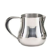 World® Tableware CT-511 Belle Resin Handle S/S 5 oz Cream Pitcher
