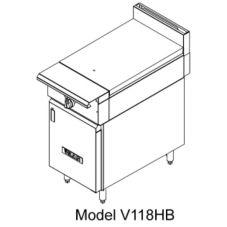 Vulcan Hart V118H V-Series HD Gas Range with (1) 30,000 BTU Burner