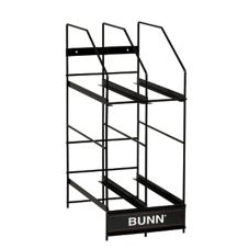 BUNN® 36760.0001 4-Position Hopper Rack for MHG 6 Lb. Hoppers