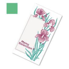 Dinex DX6SM081354 Iris Garden Green Patient Menu - 2000 / CS