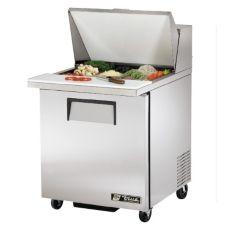 True TSSU-27-12M-B S/S Mega Top 6.5 Cu Ft Sandwich / Salad  Prep Table