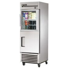 True® TS-23-1-G-1 23 Cu Ft Refrigerator With 1 Glass Half-Door