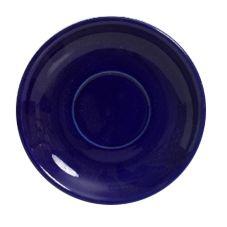 """Tuxton® BCE-066 6.75"""" Cobalt Cappuccino Saucer - 24 / CS"""