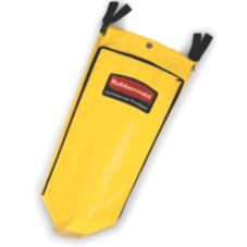 Rubbermaid® FG9T8000YEL Yellow 34 Gal Vinyl Bag for Cleaning Carts