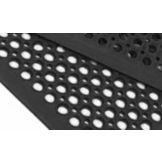 Apex™ 1003-923 Competitor® 3' x 3' Black Floor Mat