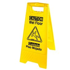 Impact® Yellow Wet Floor Sign