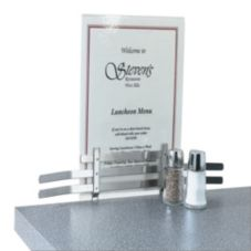 Vollrath® 46797 S/S 15.5 x 4 Screw-On Counter Menu Holder