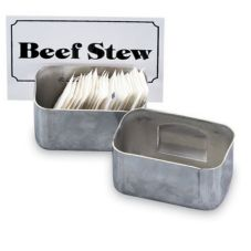 Vollrath® 46796 Stainless Steel Condiment / Card Holder