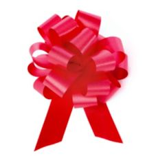 "Willow Specialties 109.RD 5-1/2"" Red Satin Finish Pull Bow - 50 / CS"