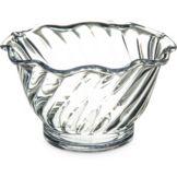 Carlisle® 453007 5 Oz. Clear Tulip Dessert Dish - 24 / CS