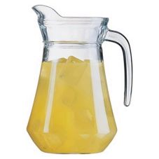 Cardinal E7255 Arcoroc 34 oz Pitcher w/ Pour Lip - 6 / CS