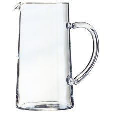 Cardinal 52349 Arcoroc 44 oz Cylinder Pitcher w/ Pour Lip - 6 / CS