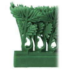 "Green Parsley Runner W/O Aluminum Clip, 1-1/2"" x 36"""