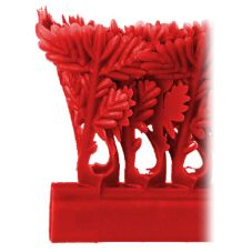 "Red Parsley Runner W/O Aluminum Clips, 1-1/2"" x 27"""