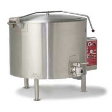 Vulcan Hart ET150 S/S Electric 150 Gal Kettle w/ Spring Assisted Cover