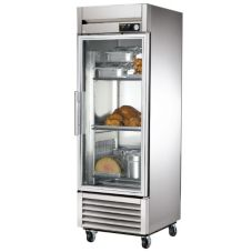 True® TH-23G Reach-In 23 Cu. Ft. Heated Cabinet With Glass Door