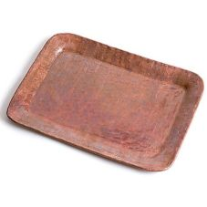 "Orion C34-R Copper 8"" x 6"" Tip Tray"