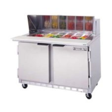 Beverage-Air SPE48-08 Elite Refrigerated Counter with 8 Pan Openings