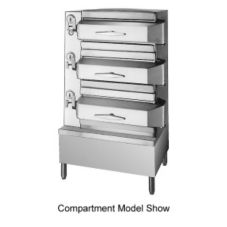 Cleveland Range PDL2 Direct Steam Pressure Steamer with 2 Compartments