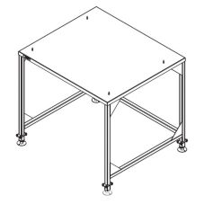 Cleveland Range Stacking Stand with Legs