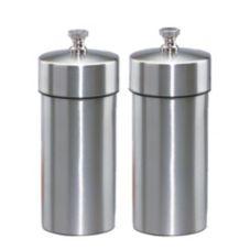 """Chef Specialties 29910 S/S 4"""" Futura Pepper Mill / Salt Mill Set"""