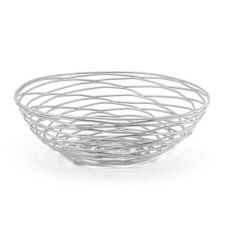 "Front of the House BBK013BCI22 8"" Wireware Basket - 6 / CS"