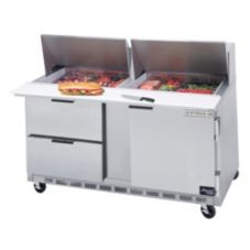Beverage-Air SPED60-24M-2 Elite Refrigerated Counter with 2 Drawers